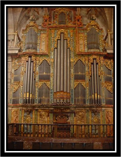 Está viendo imágenes de: Órgano de San Salvador de Celanova